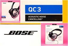 Bose QuietComfort 3 Acoustic Noise Cancelling Headphones IOS - Brand New -
