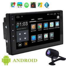 """7"""" Android 6.0 Double 2 DIN Car GPS Stereo Radio Player Wifi Bluetooth Quad-Core"""