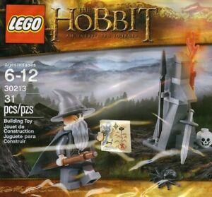 Lego The Hobbit movie Minifig Gandalf Gray Dol Guldur LOTR MAP 30213 Poly new
