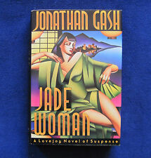 JADE WOMAN - SIGNED by Author JONATHAN GASH & by Lovejoy TV Actor IAN MCSHANE