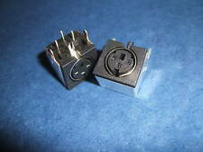 MINI Din Socket Connector PCB 3 Pin - Pack of 2 (173)