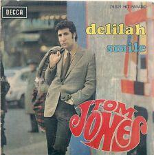 EP 2 TITRES--TOM JONES--DELILAH / SMILE--1968