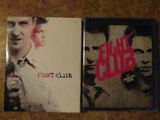 Fight Club Blu-ray Brand Spanking New W/Sticker Across Top