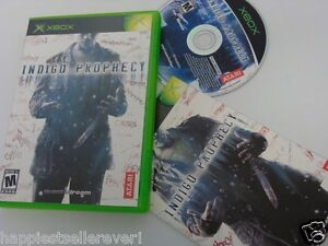Indigo Prophecy Complete Original XBOX 1 Video Game System DISK FLAWLESS