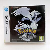 Pokemon Black   CIB Nintendo DS   English PAL Game (Portuguese Manual)
