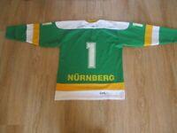 EHC 80 Nürnberg,Ice Tigers Nürnberg Cooper Trikot 1987/88 + Nr.1 + Signiert Gr.M