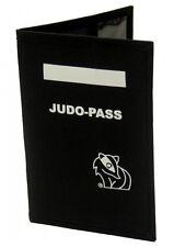 Dax-Sports- HÜLLE FÜR JUDO-PAß, Schwarz. Hülle für Judo Pass. Wettkämpfe.