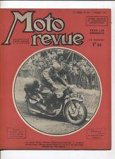 Moto Revue N°852 ; 7 juillet 1939  : les records Gnome et rhone