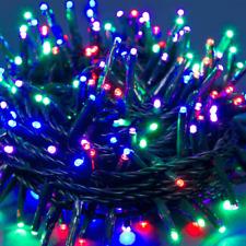 Luci Di Natale Catena Da 750 Miniled Luce Multicolore Interno Esterno Addobbi
