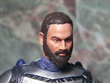 PAINTED HEAD ONLY Star Wars Black Series 6 inch Custom Bearded Clone