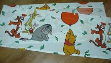 valance baby nursery vtg Retro WINNIE THE POOH Window topper BALLOON fabric
