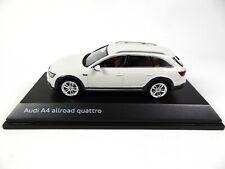 Audi A4 allroad Glacier White 1/43 Spark Dealer Pack Voiture Model Car 4623