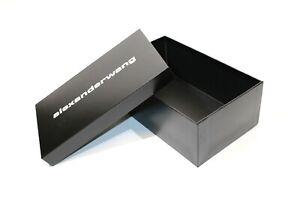 """SCATOLA CONFEZIONE LUSSO - GIFT BOX """"ALEXANDER WANG"""" 2021 ORIGINALE (32x19x12)"""