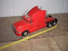 1/32 Custom vintage Ford Aero Max RED Semi Tractor Truck for parts or restore