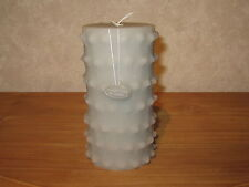 ROSENTHAL *NEW* Bougie Gris D.10cm H.18cm Candle Gray