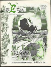 Disney E TICKET MAGAZINE #20 Winter 1994-95 MR. TOAD'S WILD RIDE, BILL MARTIN