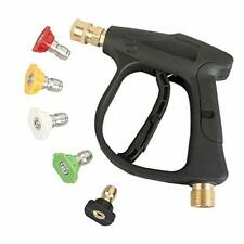 Sooprinse High Pressure Washer Gun3000 Psi Max With 5 Color Quick Connect Noz