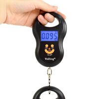 Digital BackLight Hanging Luggage Pocket Scale 50Kg / 5g Weight Kg Lb OZ WFAU