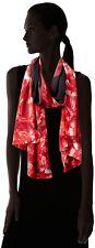 """CALVIN KLEIN WOMEN'S FLORAL BORDER CHIFFON SCARF (26""""W x 72""""L): STYLE # A7WS4519"""