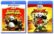 Kung Fu Panda 1 & 2 Blu-ray 3D Set English,Russian,Czech,Swedish,Polish