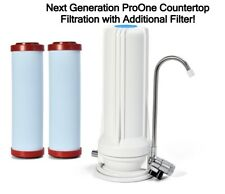ProOne Coldstream Countertop Faucet Water Filter SUPPORT A NONPROFIT ORG