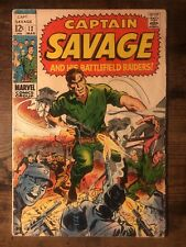 Captain Savage #12 (Mar 1969, Marvel) AND HIS BATTLEFIELD RAIDERS * COMIC BOOK