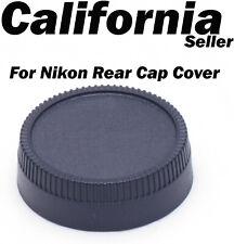 Lens Rear Dust Cap Cover for All Nikon Camera DSLR SLR AF AF-S LF-1 AI S  Ais