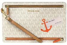 6763e2b8b6f5 $108 Receipt MICHAEL Michael Kors Illustrations Sail Away Large Travel  Wristlet