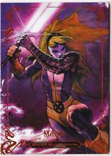 2018 Marvel Masterpieces Bianchi Legendary Orange Base Card 35 Magik 75 / 99