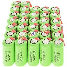 32 pc 2/3AA 1.2V 1800mAh Ni-MH ricaricabile batteria