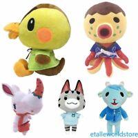 NEW Animal Crossing Zucker Sherb Molly Lolly Merengue Plush Toys Dolls Kids Gift
