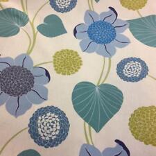 Delilah Cobalt Cotton Fabric by Prestigious Textiles / Reduced to £5.99 per mt