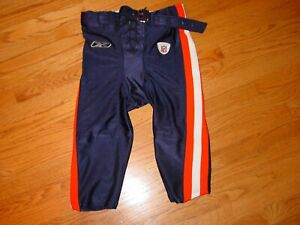 Super Rare Chicago Bears AWAY Game Worn Pants 40 Reebok Blue 2003