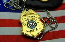 24 hours TV Series CTU badge special agent badge money clip Replica