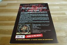 NEIL YOUNG & CRAZY HORSE - Plan média / press kit !!! YEAR OF THE HORSE !!!