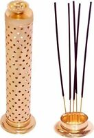 Brass Incense Holder Safety Stick Ash Catcher | Agarbatti Stand fs