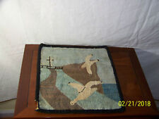Grenfell Hand Made Hooked Rug Mat Labrador Canada