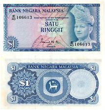 Malaysia $1 P#7 (1972) Bank Negara Malaysia XF
