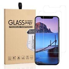2x Panzerfolie Für iPhone X iPhone Xs  Echt Glas Schutzglas Schutzfolie 9H Folie