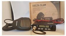 CB MOBILE RADIO DELTA SLIM AM FM ULTRA COMPACT MINI MOBILE