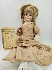 """c. Early 1900's WILLIAM GOEBEL Germany Bisque Doll German Jointed Antique 23"""""""
