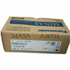 1pcs Panasonic Servo Motor Msme042g1v New In Box