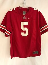 39ad6cb93 Boys Large L YouthOhio State Buckeyes Scarlet Nike Red Football Jersey  5  229