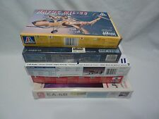Model Kits  Lot of 5 (4 1/72 Scale & 1  1/48 Scale)