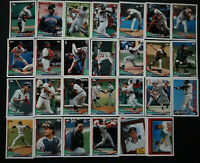 1994 Topps Minnesota Twins Team Set of 27 Baseball Cards
