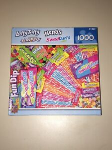 NEW 1000 Piece Jigsaw Puzzle Nerds LaffyTaffy Sweetarts Candy by MasterPieces
