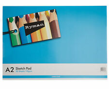 Ryman Sketch Pad A2 100gsm 60 Pages 30 Sheets
