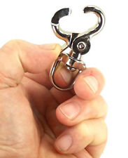 ONE KEY CHAIN RING CLAW CAGE DOOR LOCK TRIGGER SNAP BIRD EYE HOOK BELT CLIP