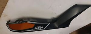 2015 KTM DUKE 125 ABS     right hand O/S rear cowl fairing panel