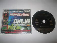 Official UK PS1 Total PlayStation Magazine Demo ~ Ninja: Shadow Of Darkness ~
